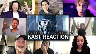 Mortal Kombat (2021) Il cast reagisce al trailer di MORTAL KOMBAT !!