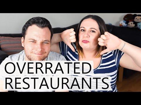 Most Overrated Walt Disney World Restaurants!