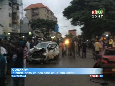www.guineesud.com - Conakry: 7 personnes tuées dans un accident de la route ce dimanche 21 août 2016