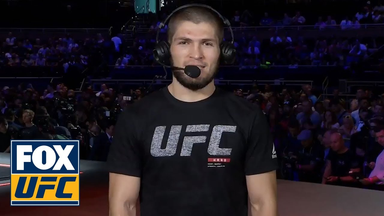 Khabib Nurmagomedov sets the record straight on pronouncing his name   INTERVIEW   UFC TONIGHT