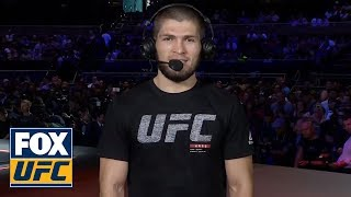 Khabib Nurmagomedov sets the record straight on pronouncing his name | INTERVIEW | UFC TONIGHT