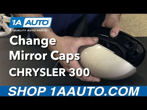 How to Replace Side View Mirror Caps 05-10 Chrysler 300