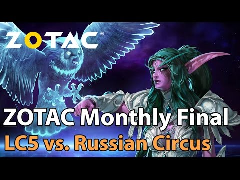 ► Heroes of the Storm Pro Play: Russian Circus vs. Lost Crowd 5 - ZOTAC Monthly Final