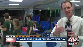 From 'Mole Day' to medical programs, Shawnee Mission makes science fun for students
