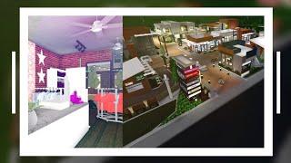 (700K-1M) FASHION SHOP!! (Outdoor Shopping Mall) TEIL 4 SpeedBuild - Bloxburg ROBLOX