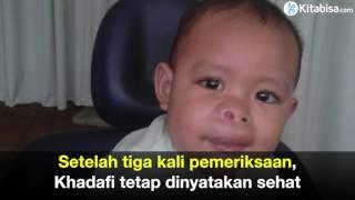 Bantu Khadafi, Bayi 1,5 Tahun Pejuang Tumor