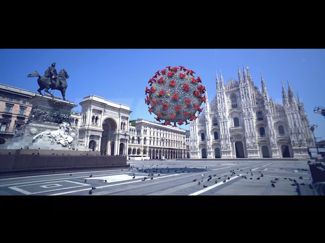 Milano in quarantena 2020 |  Italia COVID19 - ZONA ROSSA