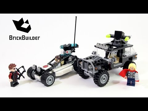 76030 AVENGERS HYDRA SHOWDOWN lego NEW legos set THOR hawkeye