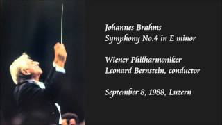Brahms: Symphony No.4 in E minor - Bernstein / Wiener Philharmoniker