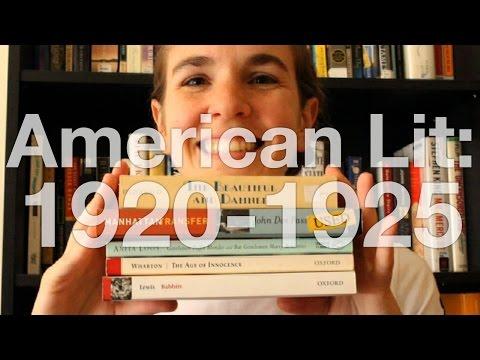 American Literature | 1920 - 1925