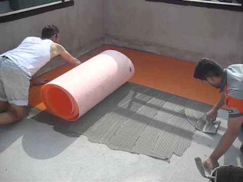 Impermeabilizzazione Terrazzo A. B 020.avi - YouTube