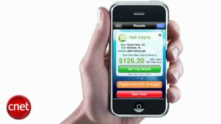 CNET TV Review of the Cost2Drive iPhone App