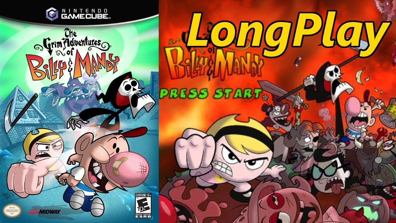 The Grim Adventures of Billy & Mandy - Longplay Full Gameplay Story Mode &  Tiers Walkthrough