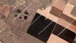 25 Wind Farms on Google Earth