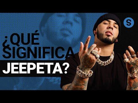 Qué significa Jeepeta en rolas de reggaetón y trap   Slang