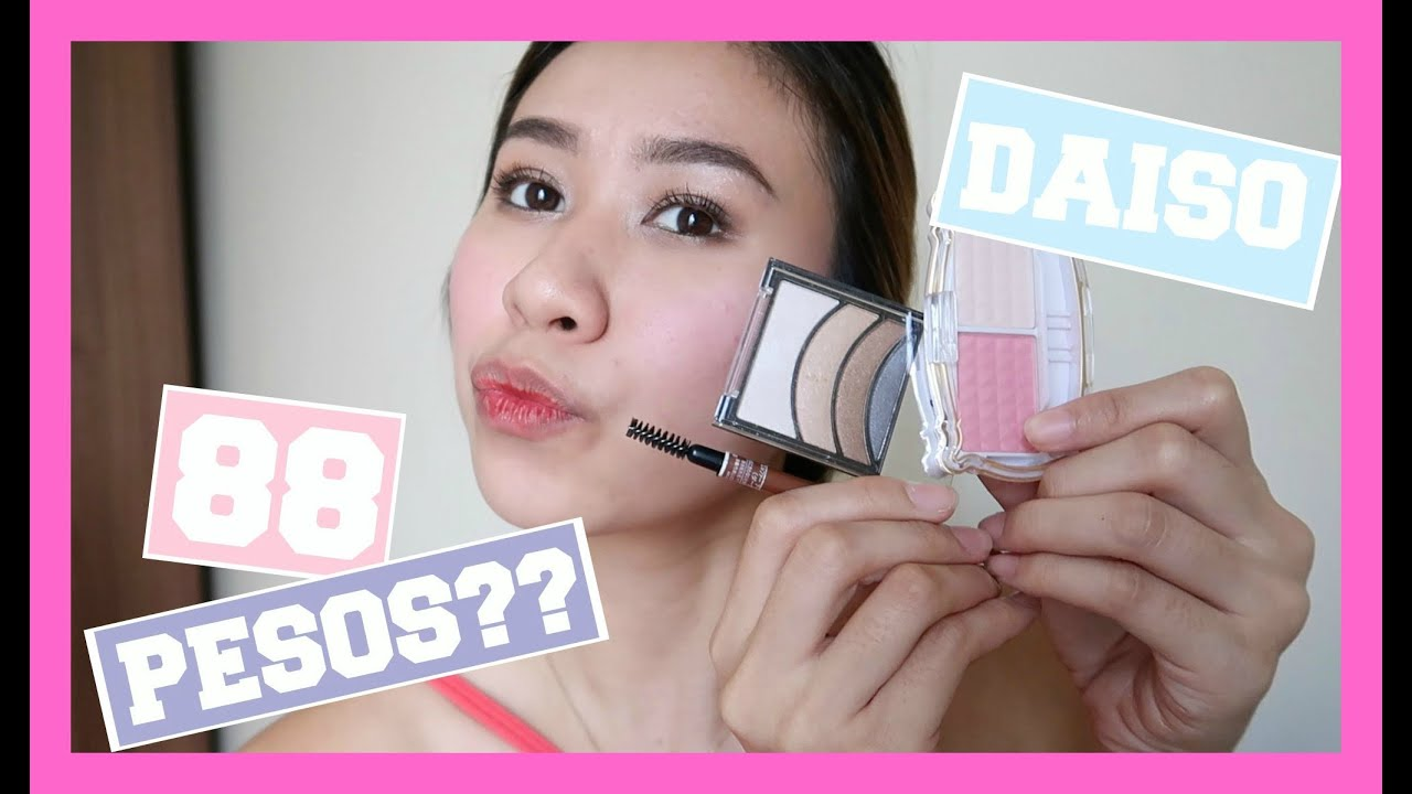 f8f4d99f50b 88 pesos makeup from DAISO! (Tutorial & Review) - YouTube