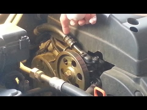 Power Steering Hose Replacement 2002 Honda Odyssey