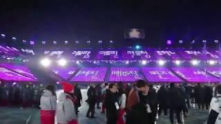 평창 동계 올림픽 개막식 총 스태프 뒤풀이