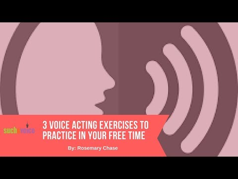 3 Voice Acting