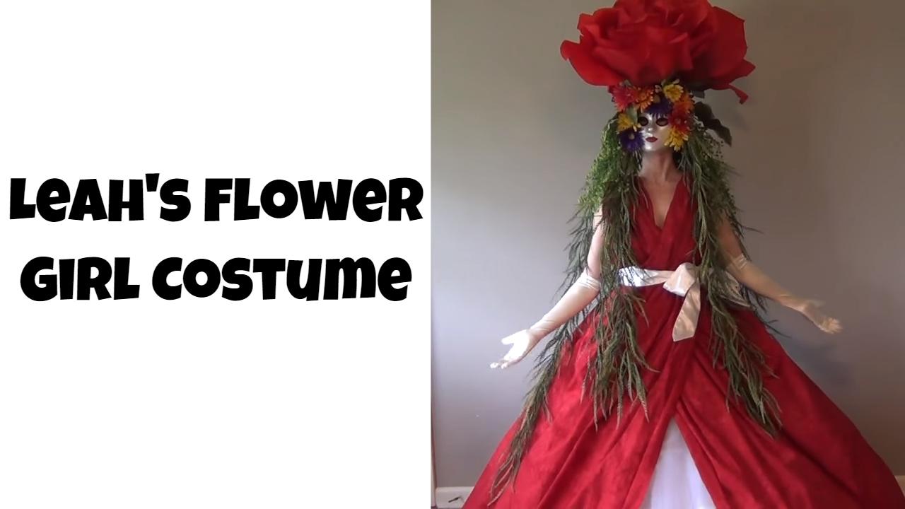 Flower Girl Costume: hoop skirt, petticoat, draped ball gown, and ...