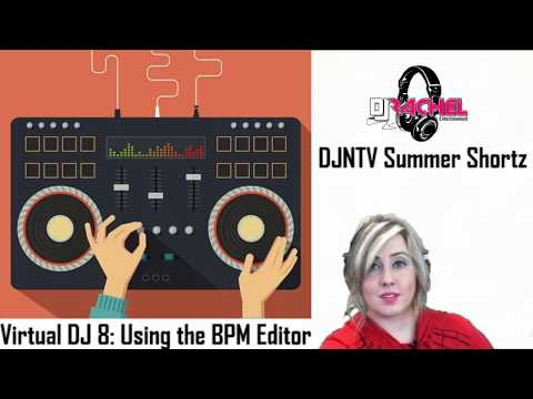 How to use the BPM Editor and Correcting Variable BPM tracks with VDJ