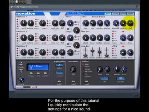 FL Studio - Programming Trance Bass