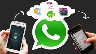 enviar qualquer arquivo por whatsapp pdf winrar apk gif tudo