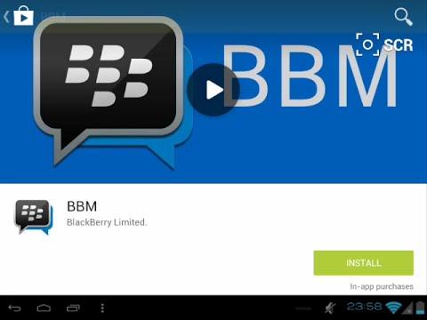 Cara Install dan Cara Download BBM Android