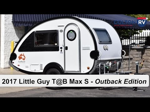 2017 little guy t b max s outback edition travel trailer youtube