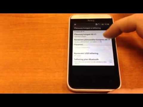 Wi-Fi hotspot HTC Desire 200