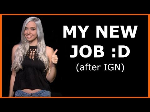 FINALLY Announcing: MY NEW JOB! (after IGN) - YouTube