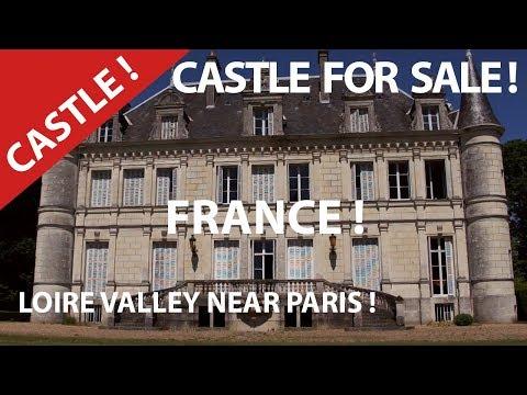 Castle For Sale In France. Luxury Property.Great Dream Properties Loire Valley Near Paris