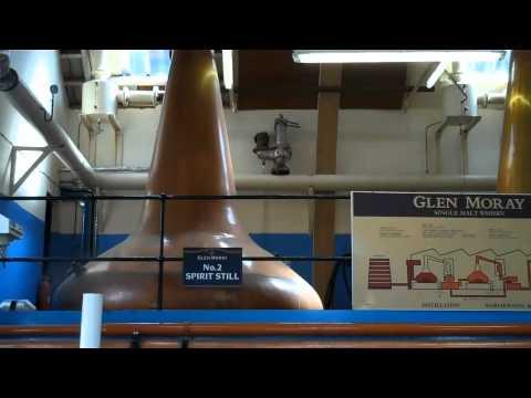 Glen Moray Distillery Visit