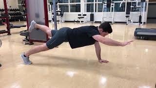 Alternating Superman Plank - Exercise Library