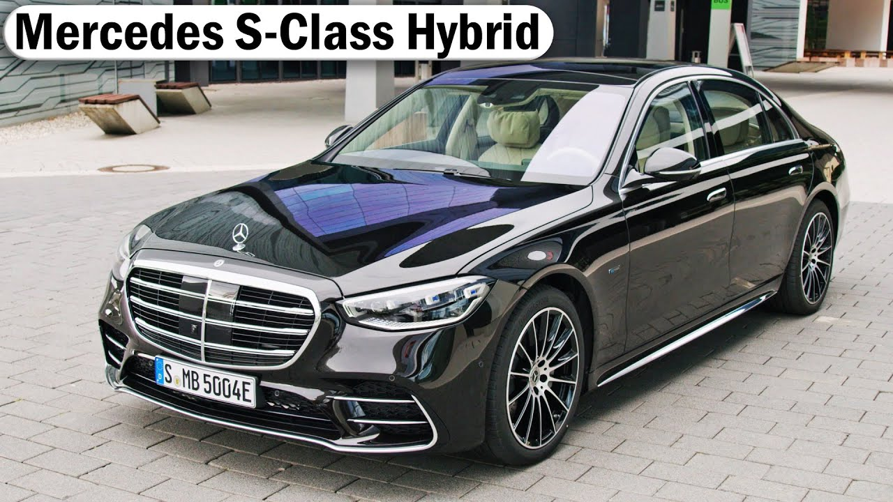New 2021 Mercedes-Benz S-Class Hybrid - Driving, Charging ...