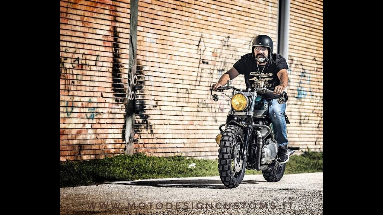 Special Triumph Bonneville By Moto Design Customs Youtube