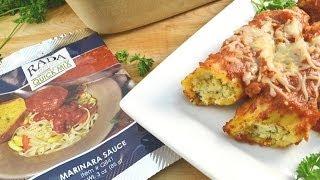 Spicy Sausage Manicotti Recipe | Radacutlery.com