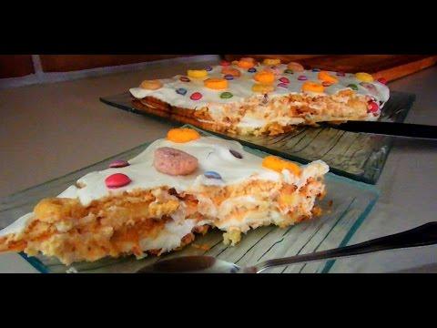 Творожный десерт нежный