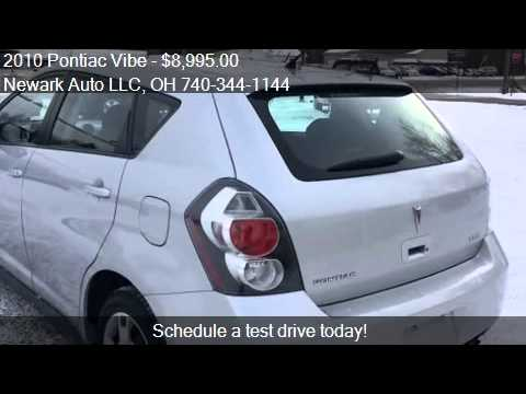 2010 pontiac vibe 2 4l 4dr wagon for sale in heath oh 43056 youtube. Black Bedroom Furniture Sets. Home Design Ideas