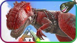 Ark: Survival Evolved | High Level Alpha Giganotosaurus Tame #70 (Modded Ark Extinction Core)