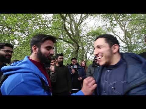 Hamza Tzortzis Asking Shamsi About Dawah | The Advice Of Sh. Ibn Baaz | Speakers Corner