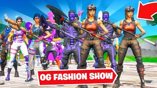 *OG* FORTNITE FASHION SHOW! | MOST OG and EMOTES Wins! [7/8]