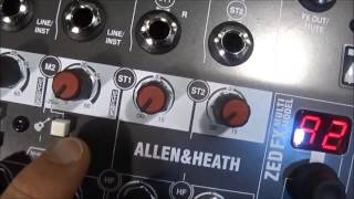Nuovi Mixer Zed 6, 6 FX, i8 Allen & Heath