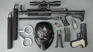 Toy Guns and Weapons !! Special Forces Modified Rifle and Toy Guns Equipment