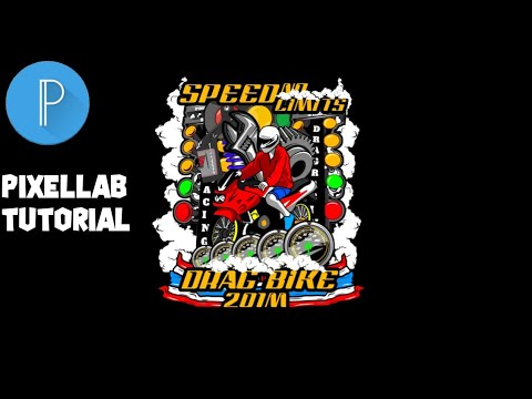 Tutorial Buat Logo Thailook Di Pixelab Part 1 ||TUTORIAL PIXELLAB