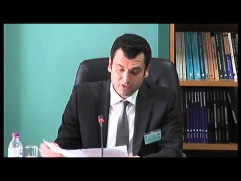 Volos Academy -- Int.Conf 2014 - Dr. Demetrios Nikolakakis
