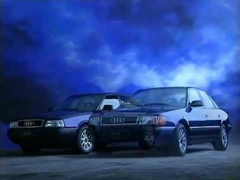 Audi 80/100 Werbung 1992