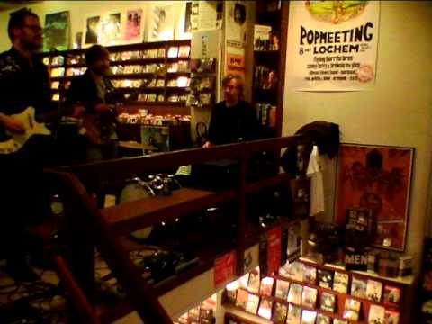 Moss - Ornaments AlbumRelease Instore Party @ Concerto Recordstore Amsterdam 26/1/2012