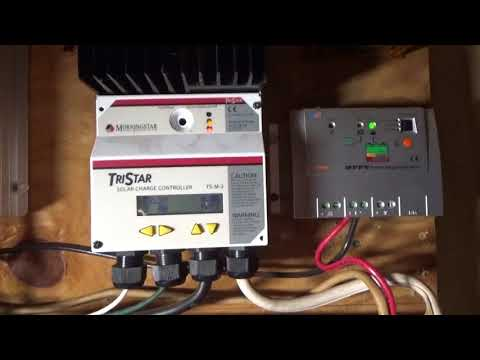 Building Insulated Off Grid Solar Power Battery Box