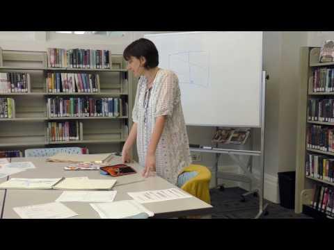Teens Creating Comics Workshop at the Nashville Public Library